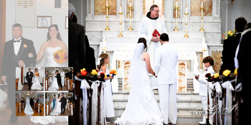 getting married at the church