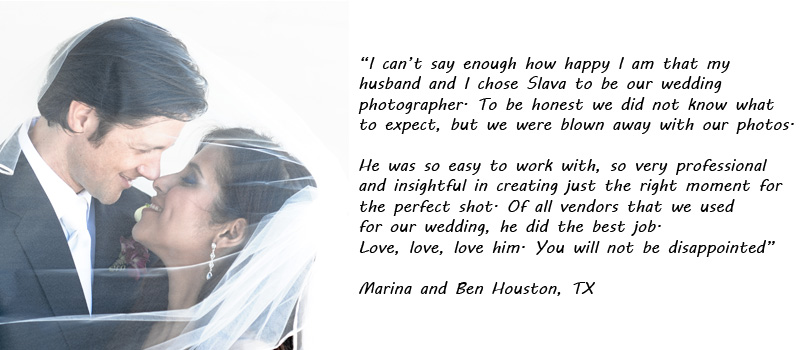 review of the houston wedding photographer