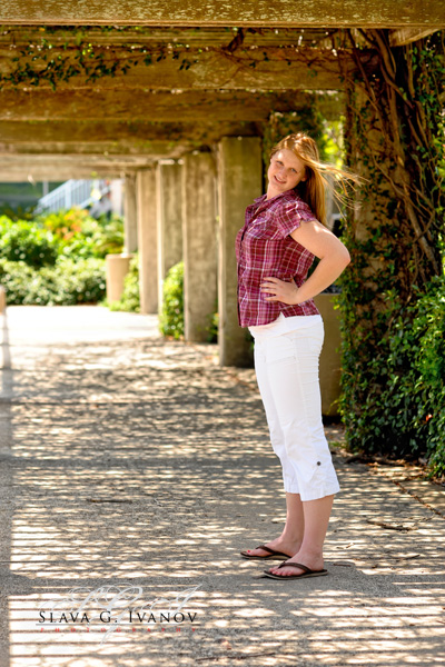 Fun and afordable high school senior photography portrait in Houston Texas