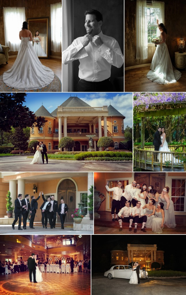 Recent photos from the beautiful Chateau Polonez wedding