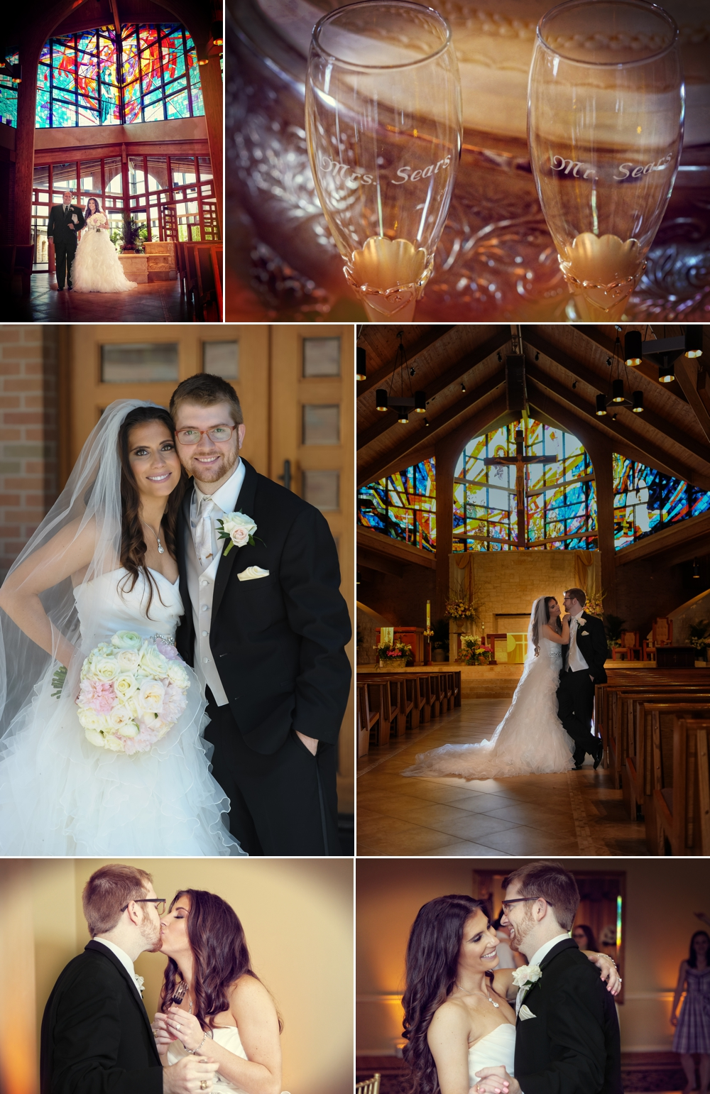 Sweetwater Country club St. Laurence Catholic church wedding photographer