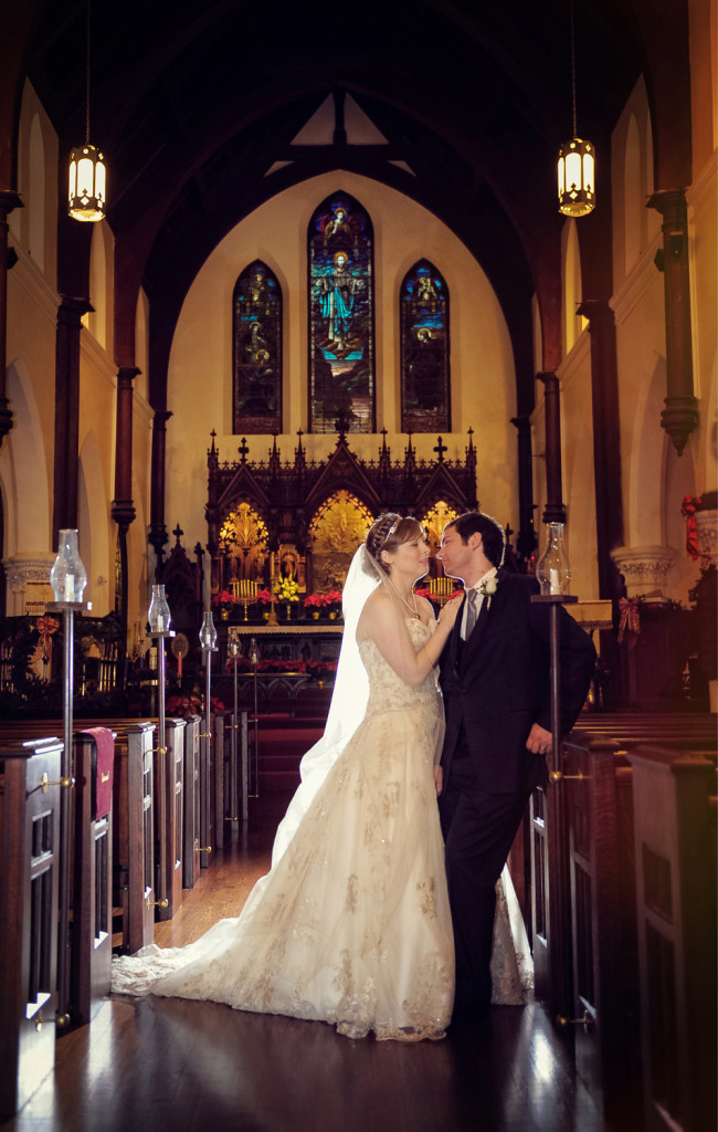 Grace Episcopal Church Galveston Wedding photography