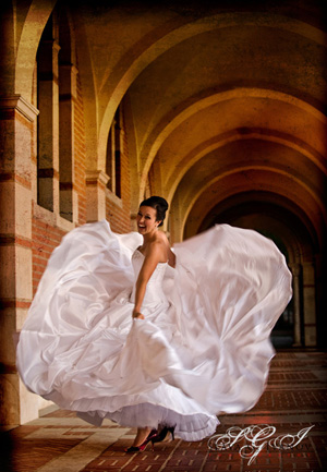 Bridal Photography at Rice University