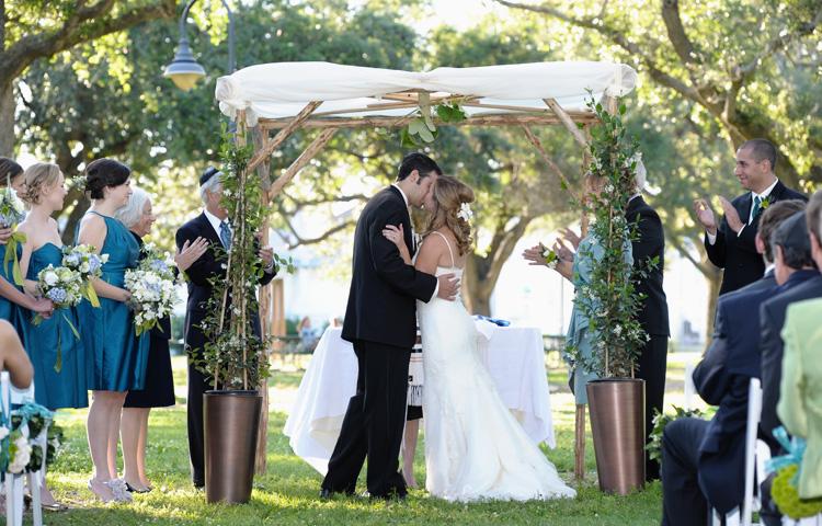 Jewish Wedding Ceremony Galveston Wedding Photography